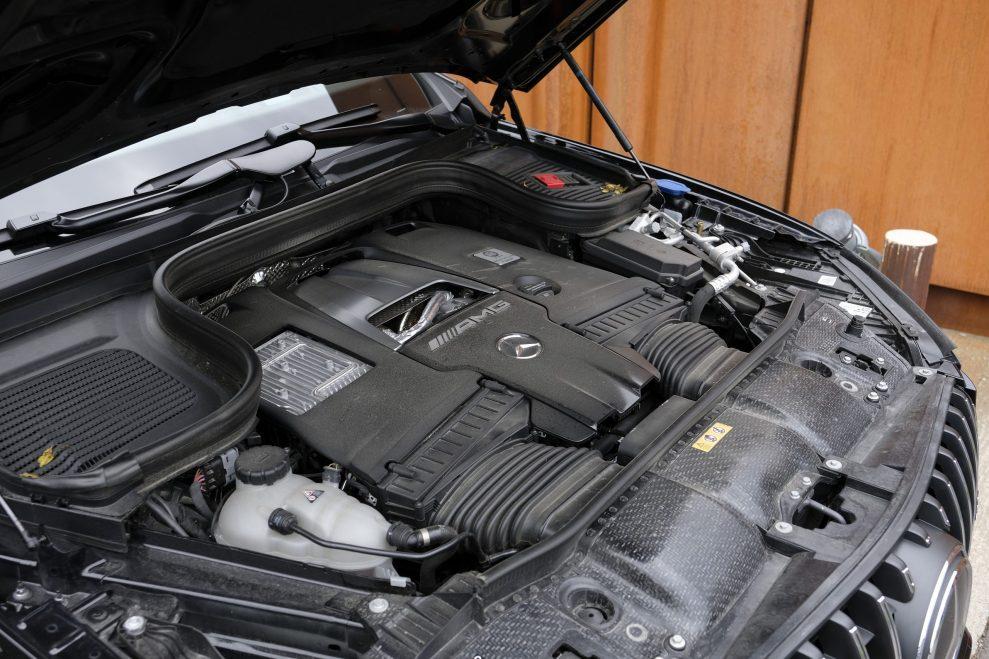 MB GLE 63s AMG engine