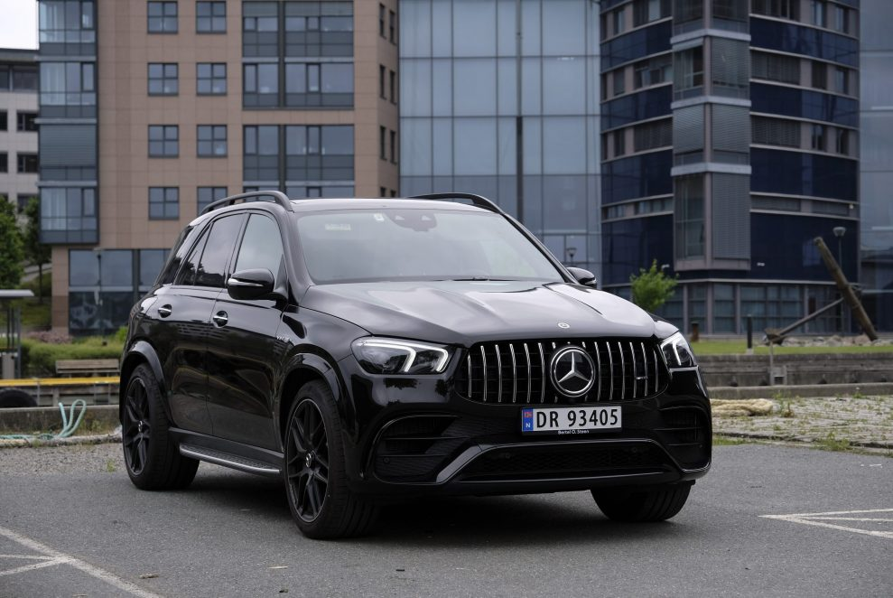 MB GLE 63s AMG front