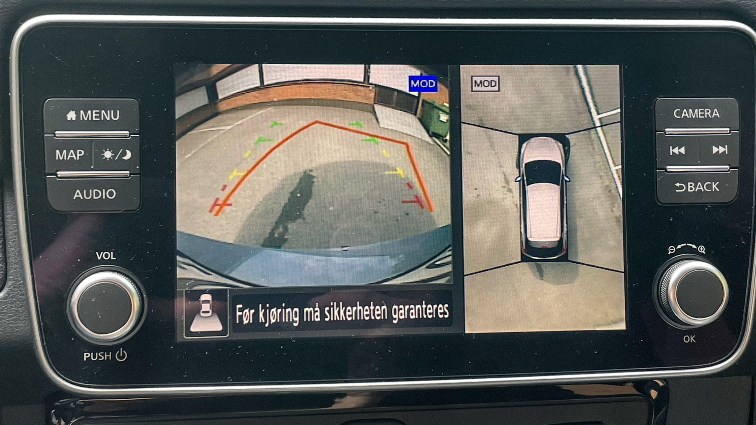 Nissan Leaf 2021 parking assist