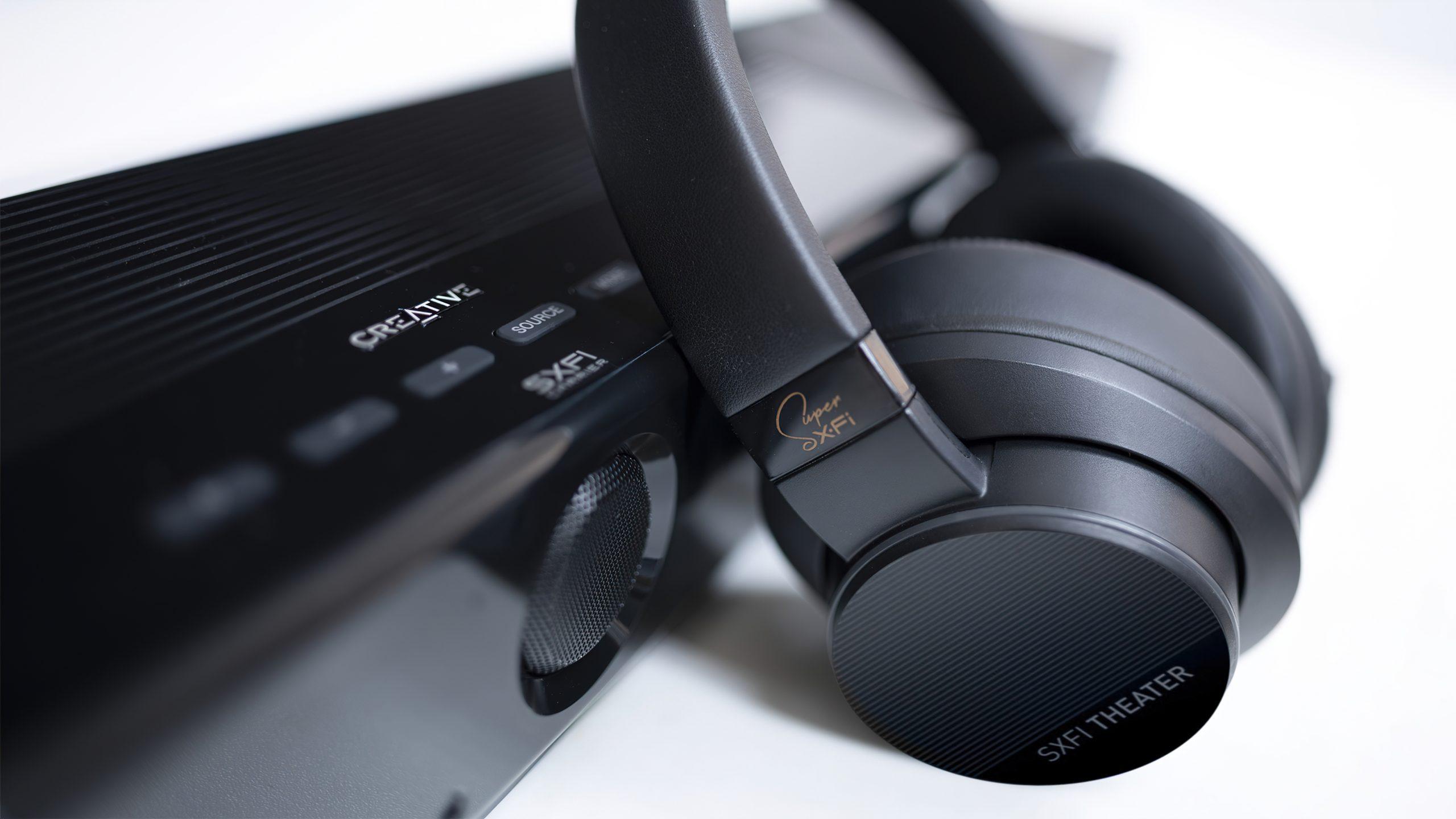 Creative SXFI Carrier headphones