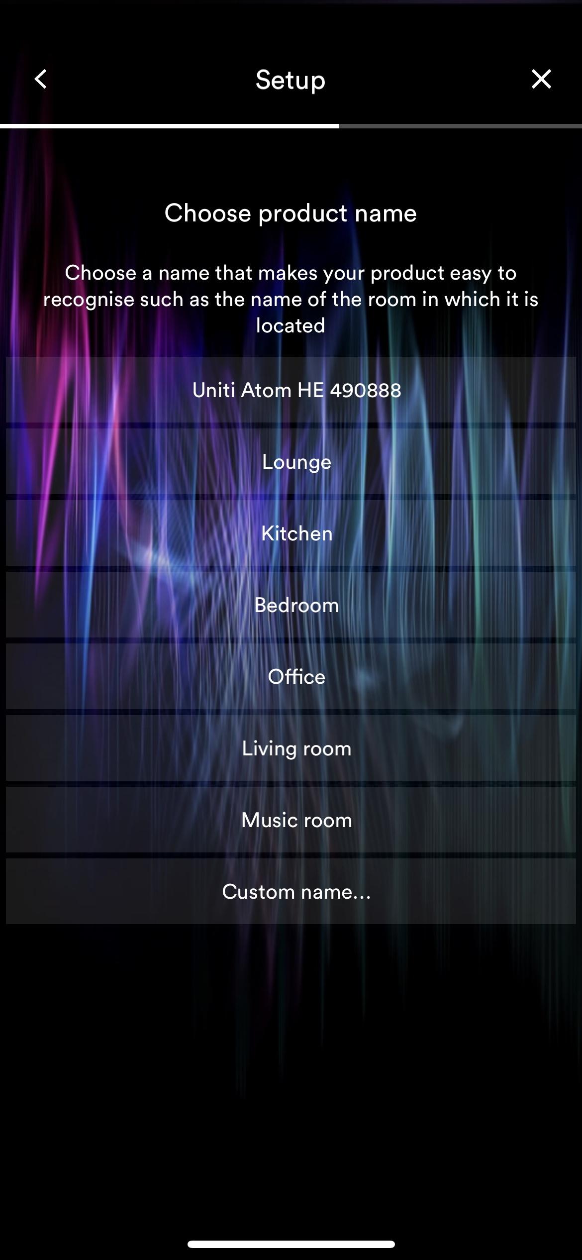 Naim Uniti Atom Headphone Edition - app setup
