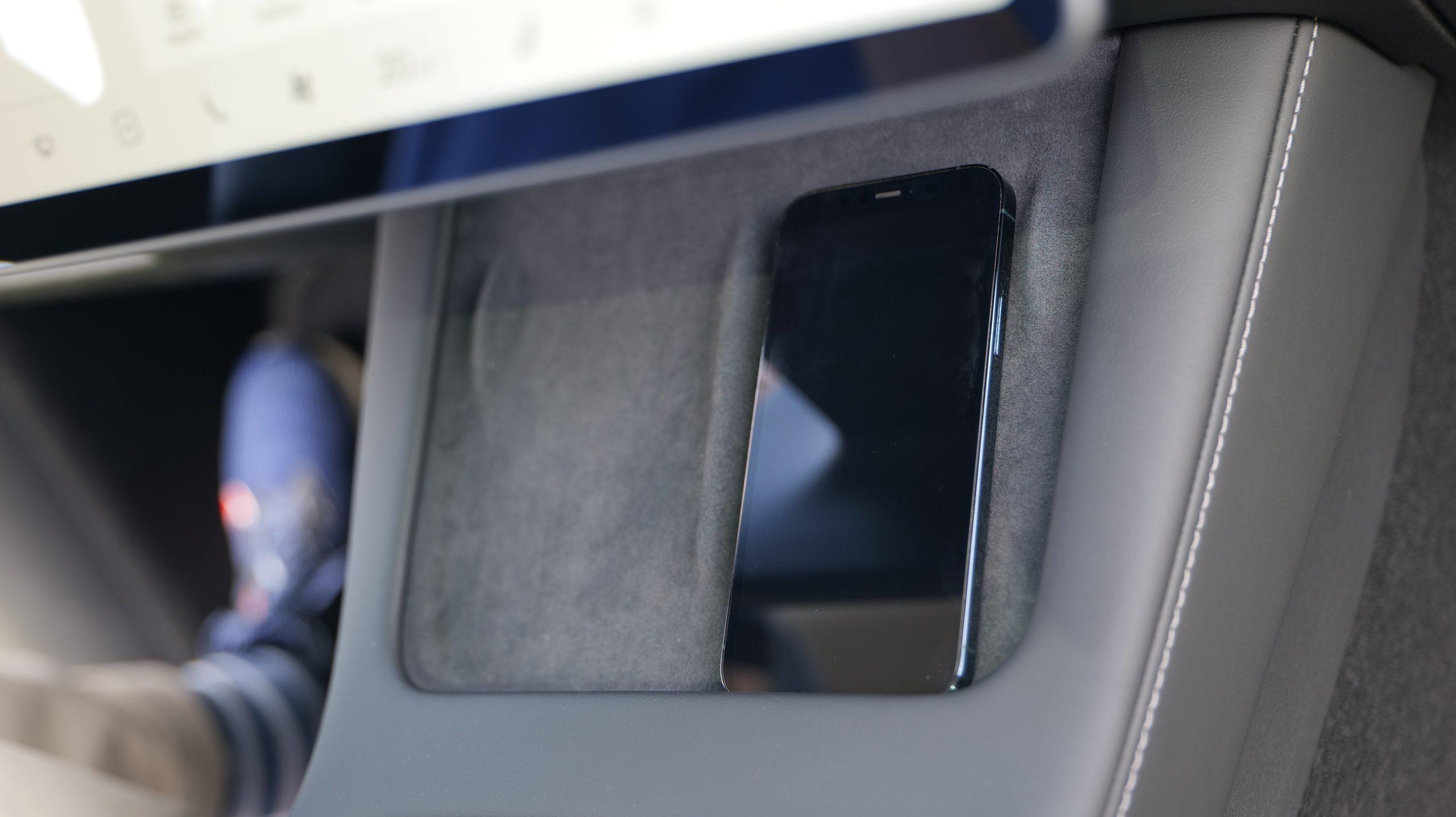 Tesla Model Y wireless charger