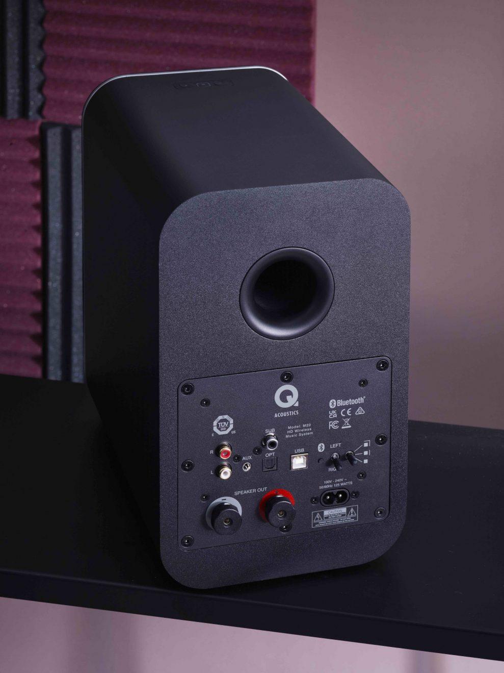 Q Acoustics M20 back